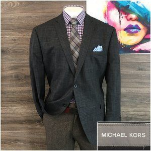 Michael Kors Mens Sport Coat Jacket Two Button